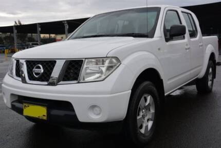 2009 Nissan Navara Ute in good shape, ready to work