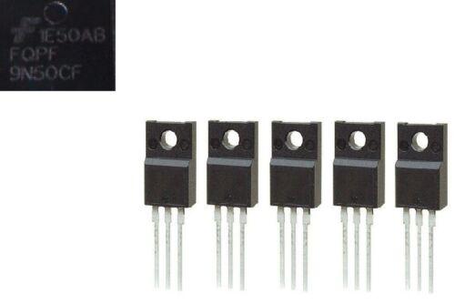FQPF9N50CF (5Pcs) MOSFET 500V N-Ch  Q-FET Fairchild Semiconductor 9N50C F TO-220