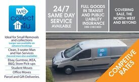 MAN AND VAN - REMOVALS, SINGLE ITEM PICKUPS SALE & ALL OF MANCHESTER, LONG DISTANCE, STUDENT MOVES