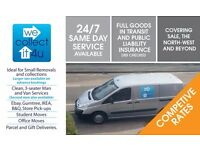 MAN AND VAN, REMOVALS, COLLECTIONS , 2 MAN AVAILABLE, DIDSBURY ,MCR AREAS. LONG DISTANCE.