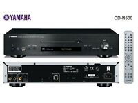 Yamaha CD-N500 - Network CD player with USB - Black