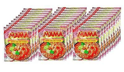 MAMA Brand Best Seller Thailand Instant Noodles Shrimp TOM YUM Flavour 30 packs