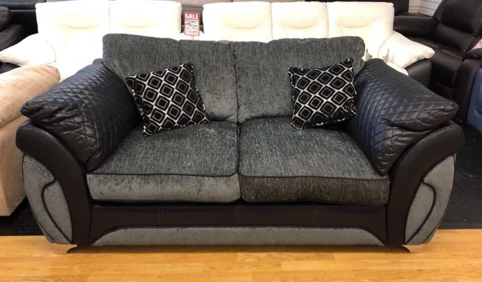 Dfs Black Charcoal Fabric Sofa Bed In Swansea Gumtree