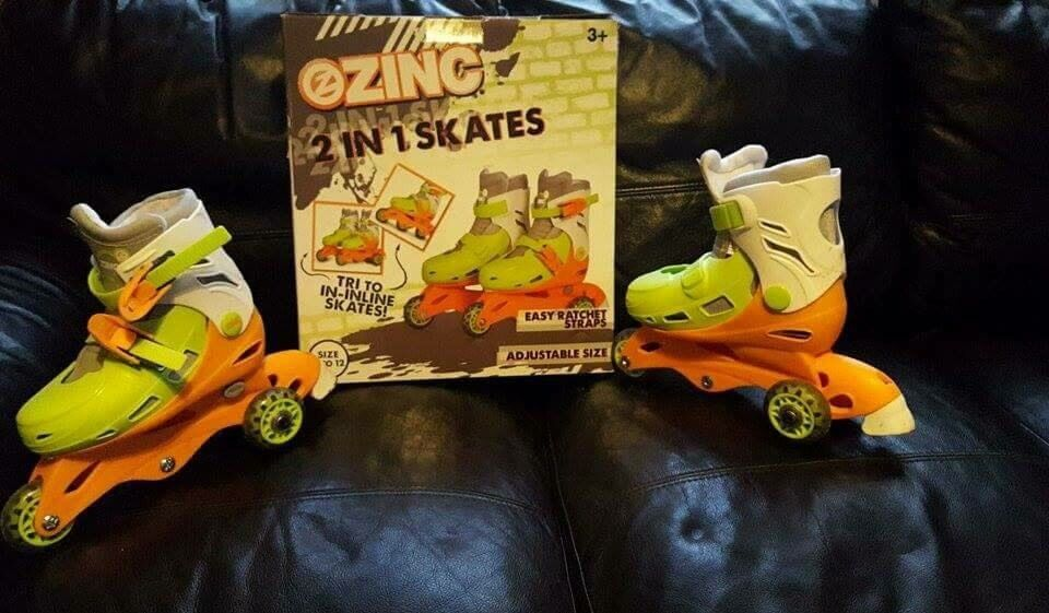 Roller scatesin Mansfield, NottinghamshireGumtree - Used only few times size kids 9 11! In box! Absolutely Lovely condition!