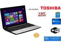 Toshiba Satellite C55 A 1N1 Laptop Intel Core i5 8 GB Ram 500 GB HDD Windows 10