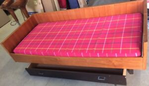 Teak Daybed with Pull Out Drawer