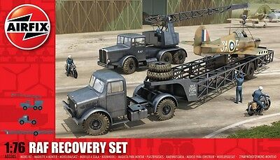 Airfix A03305 1/76 Plastic WWII British RAF Airfield Recovery Set