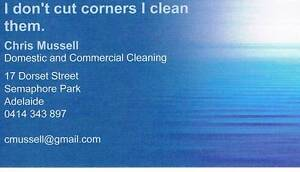 Cleaner Western Suburbs - Mussell Cleaning Semaphore Park Charles Sturt Area Preview