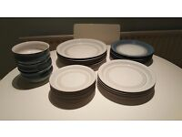 Denby Castile blue&white and grey&white VARIOUS items for sale!!!