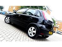 Black Vauxhall Corsa 1.0 Twinport 5 Door Hatchback Alloys new driver car
