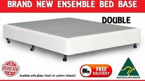 BRAND NEW Double Bed Ensemble Base AUSTRALIAN MADE New Farm Brisbane North East Preview