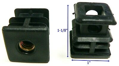 Oajen Caster Socket Furniture Insert For 516 - 18 Thread Use With 1 Od