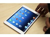 1 month old immaculate IPAD MINI WI-FI + CELLULAR 16G - WHITE