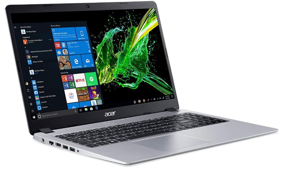 Acer Laptop Full HD Screen WiFi/Bluetooth 128 GB SSD Backlit Keyboard 15.6