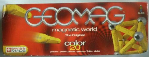 GEOMAG+MAGNETIC+WORLD.+THE+ORIGINAL+COLOR+20+-+GREEN