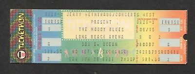 1981 Moody Blues full concert ticket Long Beach Long Distance Voyager Halloween ()