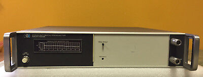 Hp Agilent 8445b Dc To 18 Ghz Automatic Tracking Preselector. For 855a 8552
