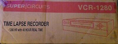 Super Circuit 1280 Hour Time Lapse Video Cassette Recorder Vcr