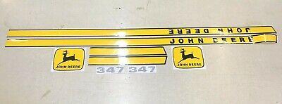 John Deere 347 Baler Decals