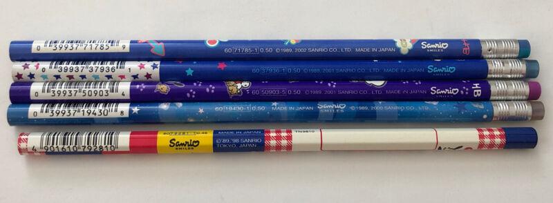 Vintage Sanrio Pochacco Lot 5 Pencils