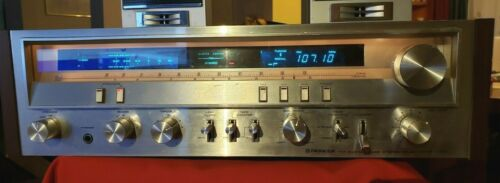 Vintage Pioneer SX-3700 AM/FM Stereo Receiver W/ Manual