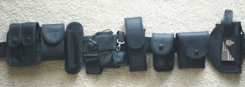 Tactical Nylon Police Security Guard Duty Belt Utility