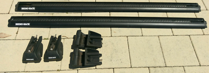Rhino Rack vortex roof rack bars and clamps