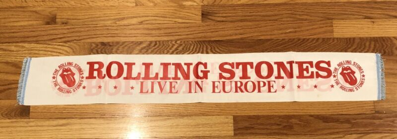 Bill Wyman Personally Owned Rolling Stones Archive 1970s European Tour Scarf