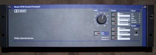 Dolby Laboratories  CP45 Cinema Projector Processor Digital Multi Channel