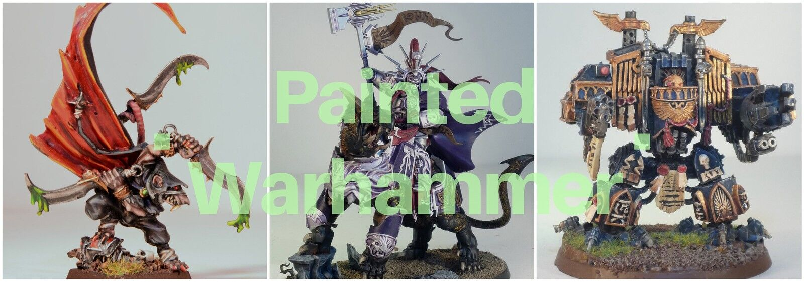 Painted Warhammer