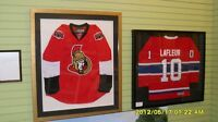 HOCKEY JERSEY FRAMING