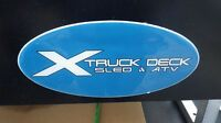 NEW - Sled/ ATV Decks - Windsor Motorsports