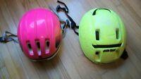** 2 Bike Helmets **