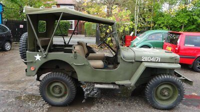 Genuine Willys jeep WW2 1943  classic car military vehicle