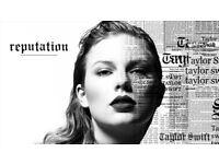 2 Taylor Swift Tickets! Wembley Stadium! Friday 22nd June. Block 525