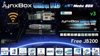 JYNXBOX V3 ULTRA HD FTA SATELLITE DISH RECEIVER
