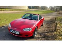 2004 Mazda MX-5 Euphonic Sports car performance, bargain price - for sale to a good home!
