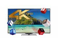 FINLUX 55'' Smart 3D LED TV 4K HD (55UT3E242S-T) BARGAIN LIKE NEW, ONLY £399.99