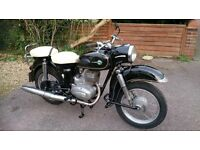 MZ ES250/1 - 1962. UK registered