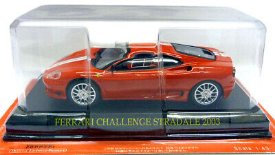 Cake Metal Ferrari Challenge 1//43 Scale Stradale Alta 2003 Red Birthday