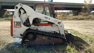 2007 Bobcat T300 Skid Steer