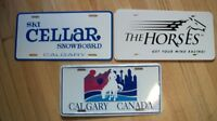 ** Licence Plate Frames & Other Signs **