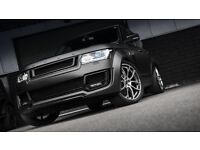 22 inch Wheels & Tyres Kahn 600 LE Range Rover Vogue Sport Discovery set of 4