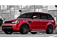 22 inch Alloy Wheels Kahn RS Range Rover Vogue Sport Discovery set of 4 Black