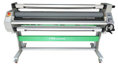 1630mm 64 Automatic Hot Cold Laminator Roll Laminating 80 Heat Assisttake Up