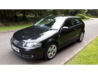 Audi A3 2.0 Sport. Newer Style. Full MOT. Service History. Black. Incredible Value!! £1195.