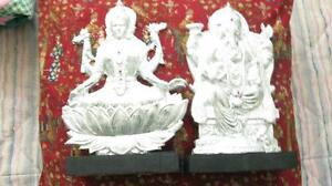 Laxmi and Ganesh  Idols for good luck and prosperity