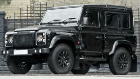 16 inch Alloy Wheels Kahn 1948 Land Rover Defender Black set of 4