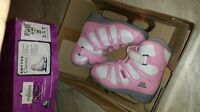 Girl's Ice Skates size 12J (Pink) LIKE NEW