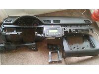 European VW PASSAT B6 2005-2010 BLACK DASHBOARD AIRBAG KIT European
